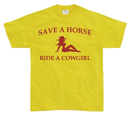 Ride A Cowgirl!, Basic Tee