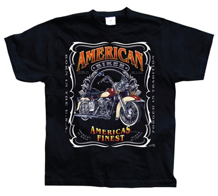 Americas Finest Motorcycles, Basic Tee