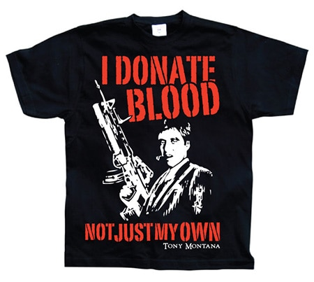 Scarface Donate Blood