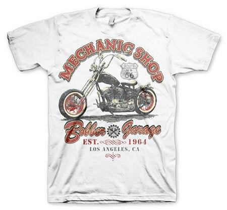 Mechanic Shop Bobber T-Shirt, Basic Tee