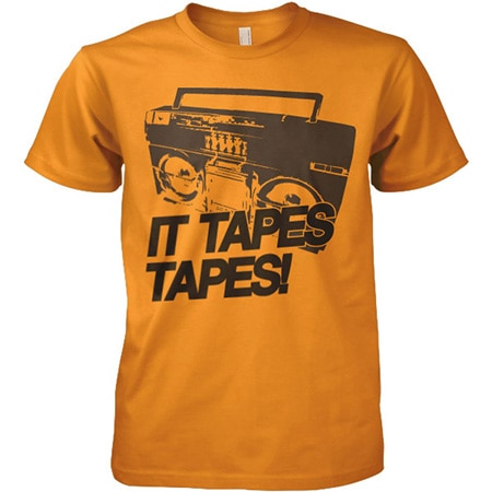 It Tapes Tapes Tee, Basic Tee