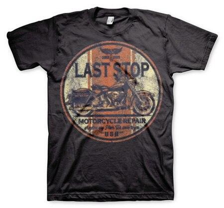 Last Stop Motorcycle Repair, Basic Tee