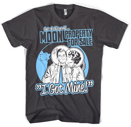 Moon Property For Sale T-shirt, Basic Tee