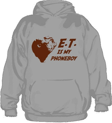 E.T. Is My Phoneboy Hoodie, Hooded Pullover
