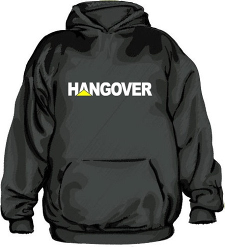 Hangover Hoodie, Hooded Pullover