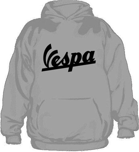 Vespa Hoodie, Hooded Pullover