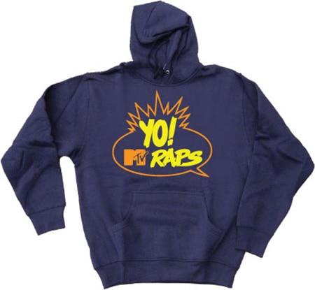 Yo! Mtv Raps Hoodie, Hooded Pullover