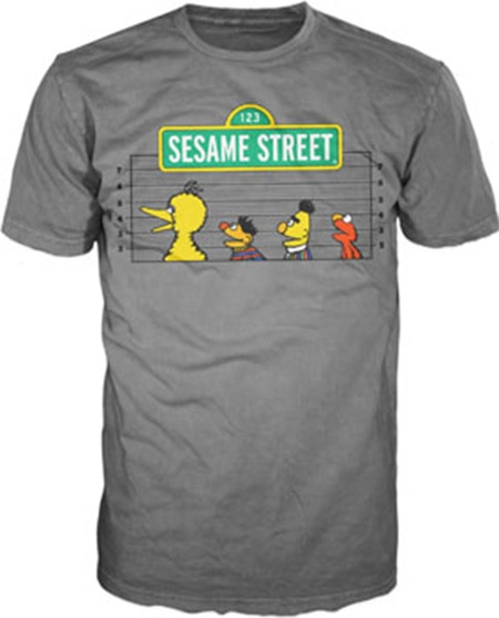 Sesame Street - Line Up T-Shirt