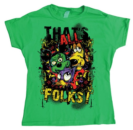 That´s All Folks Girly Tee
