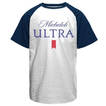 Michelob Ultra Baseball T-Shirt, Baseball T-Shirt
