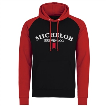 Michelob Brewing Co. Baseball Hoodie, Baseball Hooded Pullover
