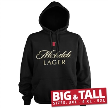 Michelob Lager Big & Tall Hoodie, Big & Tall Hooded Pullover