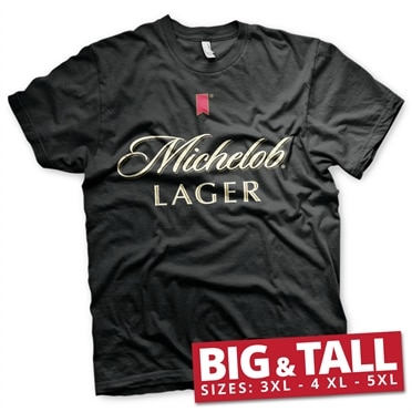 Michelob Lager Big & Tall T-Shirt, Big & Tall T-Shirt