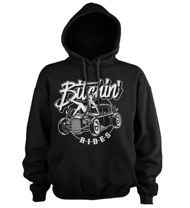 Bitchin' Rides - Hot Rod Hot Girls Hoodie, Hooded Pullover