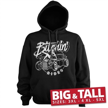 Bitchin' Rides - Hot Rod Hot Girls Big & Tall Hoodie, Big & Tall Hoodie