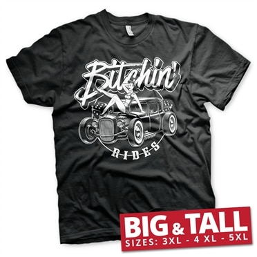 Bitchin' Rides - Hot Rod Hot Girls Big & Tall T-Shirt, Big & Tall T-Shirt