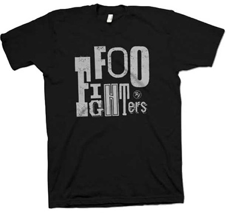 Foo Fighters - Random Letters Logo T-Shirt