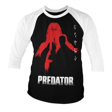 The Predator Poster Baseball 3/4 Sleeve Tee, Baseball 3/4 Sleeve Tee