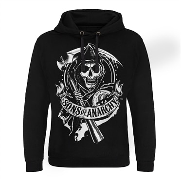 Sons Of Anarchy SOA 1967 Skull Epic Hoodie