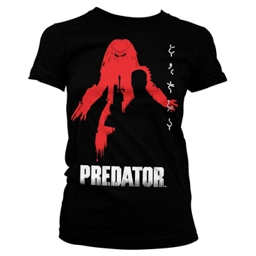 The Predator Poster Girly Tee, Girly Tee