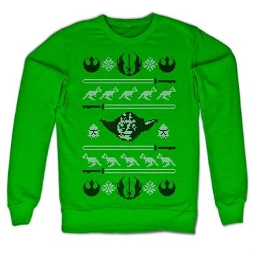 Star Wars Yodas X-Mas Knit Sweatshirt, Sweatshirt