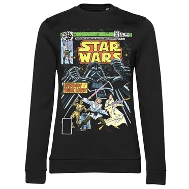 Star Wars - Shadow Of A Dark Lord Girly Sweatshirt, Girly Sweatshirt