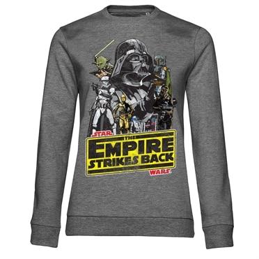 Star Wars / The Empire Strikes Back Girly Sweatshirt, Girly Sweatshirt