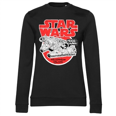 Star Wars - Millennium Falcon Girly Sweatshirt, Girly Sweatshirt