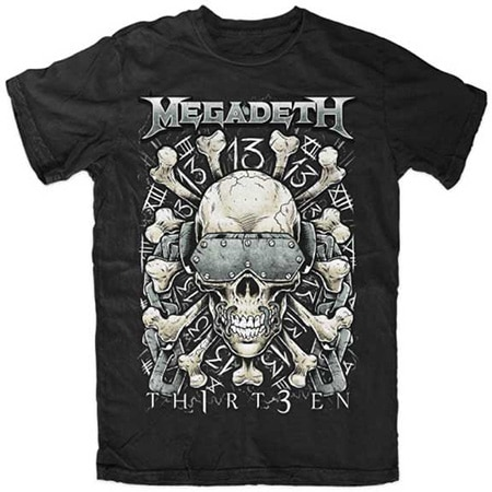 Megadeth - Red Bones T-Shirt
