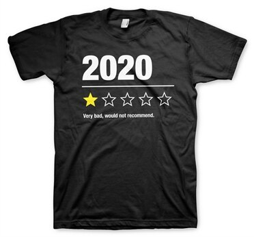 2020 Review T-Shirt, Basic Tee