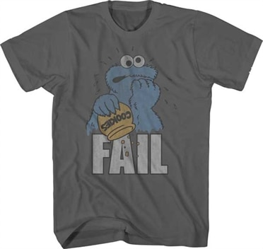 Cookie Fail T-Shirt, Basic Tee