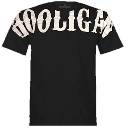 Hooligan Visual Black T-Shirt