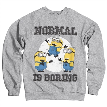 Minions - Normal Life Is Boring Sweatshirt, Sweatshirt