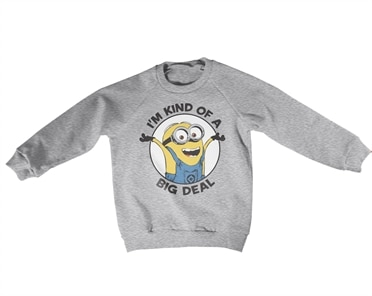 Minions - I'm Kind Of A Big Deal Kids Sweatshirt, Kids Sweatshirt