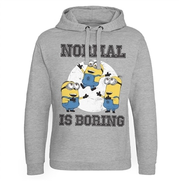 Minions - Normal Life Is Boring Epic Hoodie, Epic Hooded Pullover
