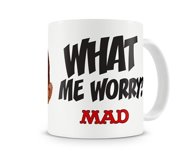 Mad Magazine - What Me Worry Coffee Mug, Coffee Mug