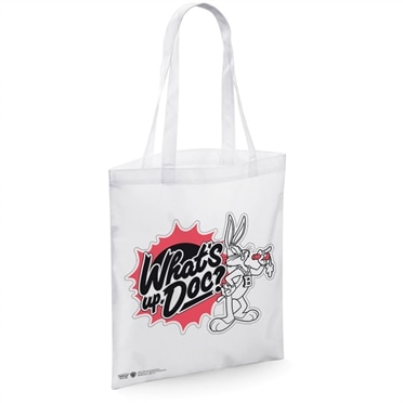 Looney Tunes - What's Up, Doc Tote Bag, Tote Bag