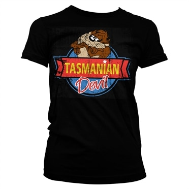 Tasmanian Devil Girly Tee, Girly Tee