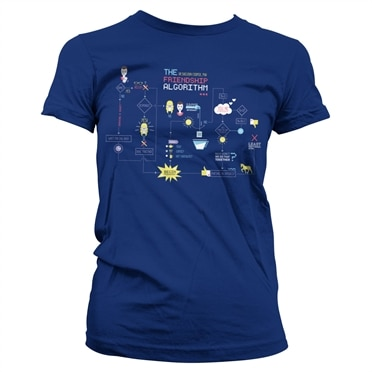 The Friendship Minions Algorithm Girly Tee, Girly Tee