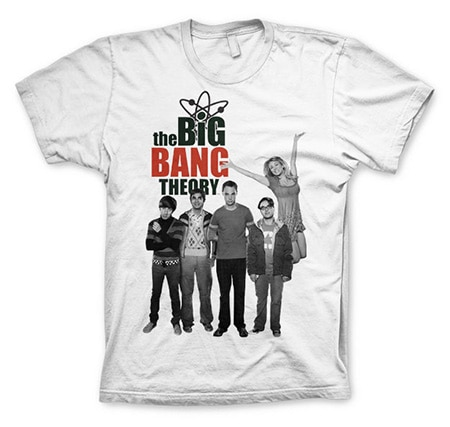The Big Bang Theory Cast T-Shirt, Basic Tee
