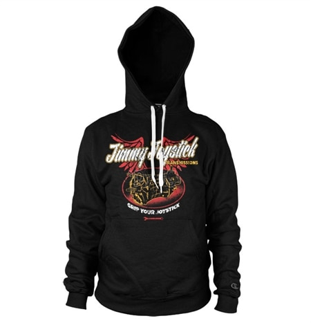 Jimmy Joystick Transmissions Hoodie, Hooded Pullover
