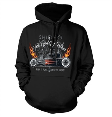 Shifters Hot Rods & Kustom Hoodie, Hooded Pullover