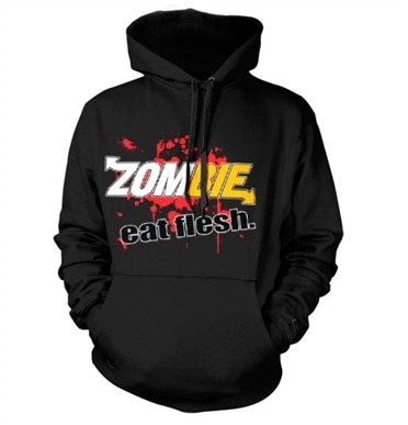 Zombie - Eat Flesh Hoodie, Hooded Pullover