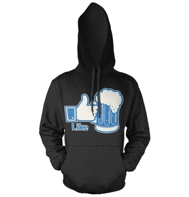 LIKE Beer Hoodie, Hooded Pullover
