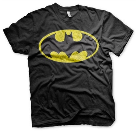 Batman Distressed Logo T-Shirt