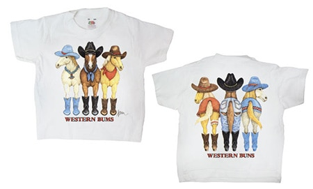 Western Bums T-shirt