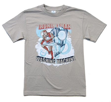 Ironing Man T-Shirt, SplitReason Basic Tee