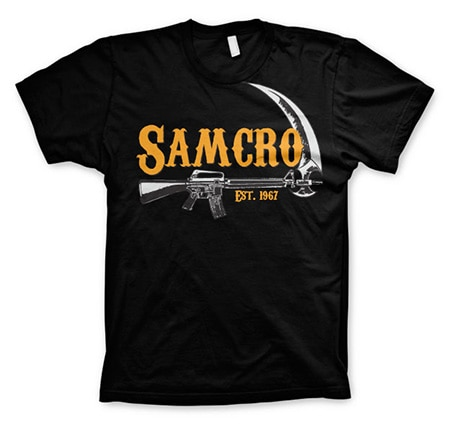 Sons Of Anarchy SAMCRO Est. 1967 T Shirt