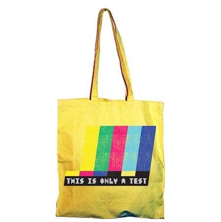 This Is Only A Test Tote Bag