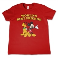 6416259fc6f1 Mickey & Pluto - Best Friends Kids T-Shirt